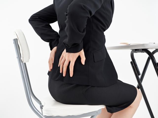 骨盤の歪みからくる症状が気になる女性